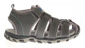 Kinder Sandalette geschlossen Gummizug Junge Mädchen Schuhe Klettverschluss Gr. 25-30 – Bild 5