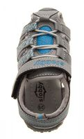 Kinder Sandalette geschlossen Gummizug Junge Mädchen Schuhe Klettverschluss Gr. 25-30 – Bild 7