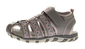 Kinder Sandalette geschlossen Gummizug Junge Mädchen Schuhe Klettverschluss Gr. 25-30 – Bild 9