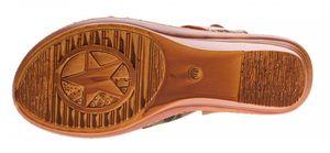 Damen Keil Sandaletten Schnalle Clogs Schuhe Fessel Riemchen Sandalen Wedges Gr. 36-41 – Bild 6
