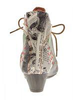 Damen Knöchel Schuhe echt Leder Stiefeletten Muster variieren Comfort Stiefel TMA 7616 Boots 36 - 42 – Bild 20