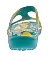 Damen Bade Pantolette Freizeit Latschen Sommer Schuhe EVA-Sohle Bandagen Gr. 37-42 – Bild 12