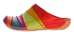 Damen Pantoletten Gemini Sandalen echt Anilina Leder Clogs Schuhe Latschen Slipper Gr. 37 - 41 – Bild 4