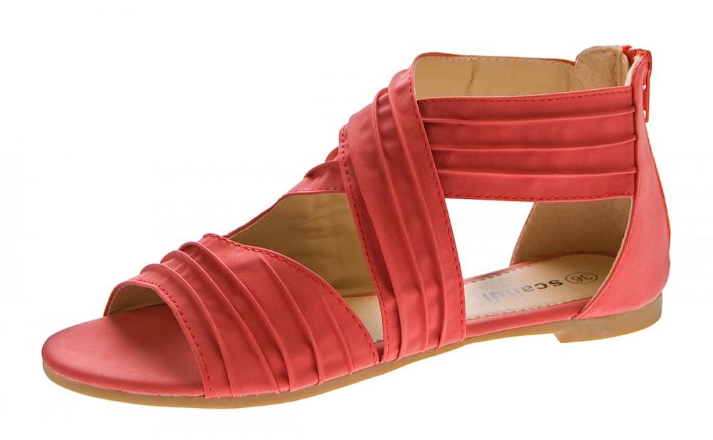 damen sandalen flach schuhe gekreuzte riemchen sandaletten. Black Bedroom Furniture Sets. Home Design Ideas