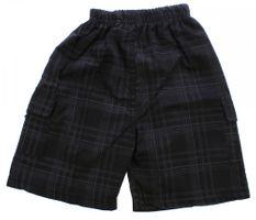 Jungen Bermuda kurze Hose Karo Muster Sommer Kinder Shorts kariert Baggy Gummizug Gr. 104 - 134 – Bild 4