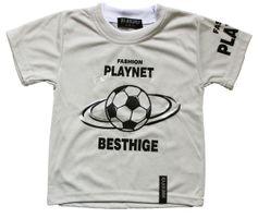 Jungen Shirt Kurzarm Sommer Kinder T-Shirt Fußball Motiv Rundhals Gr. 122-158 – Bild 4