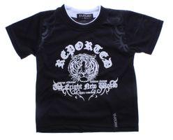 Jungen T-Shirt Tribal Tiger Motiv Kurzarm Sommer Kinder Shirt Rundhals Gr. 128-158 – Bild 2