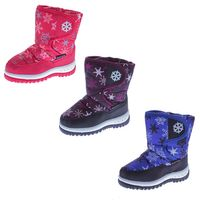 Kinder Stiefel Winter Schnee Schuhe fallen größer aus KAT-TEX Jungen Mädchen gefüttert Outdoor Boots