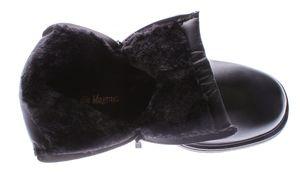 Herren Knöchel Winter Schuhe gefüttert Boots Kunst Leder Reißverschluss Stiefeletten Gr. 40-46 – Bild 5