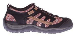 Damen Sport Schuh Sun & Shadow Blumen Muster Halbschuhe Sneakers Gummizug Slipper Gr. 37-42 – Bild 3