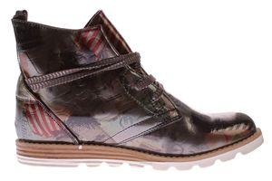 Damen Stiefeletten Kunst Leder Knöchel Schuhe Sun & Shadow Boots Mehrfarbig Gr. 37-43 – Bild 5