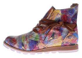 Damen Stiefeletten Kunst Leder Knöchel Schuhe Sun & Shadow Boots Mehrfarbig Gr. 37-43 – Bild 9