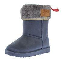 Kinder Gummi Stiefel matt Winter Schuhe Jungen Mädchen gefüttert Booty Gosch Shoes Sylt 8501-501