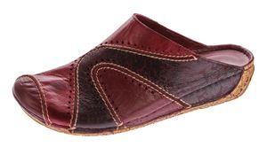 Damen Pantoletten Gemini Schuhe echt Anilina Leder Clogs Sandalen Latschen Slipper Gr. 36 - 42 – Bild 3