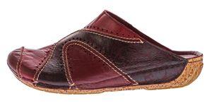 Damen Pantoletten Gemini Schuhe echt Anilina Leder Clogs Sandalen Latschen Slipper Gr. 36 - 42 – Bild 8