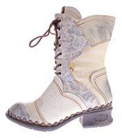 TMA Damen Winter Stiefel echt Leder Schuhe gefüttert Comfort Boots TMA 5766 Stiefeletten Gr. 36 - 42 – Bild 10