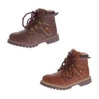 Kinder Winter Knöchel Schuhe Jungen Mädchen Kunst Leder Schuhe warm gefüttert Outdoor Boots 30 - 36