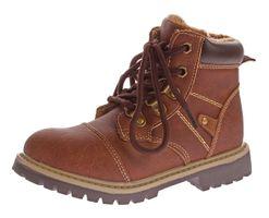 Kinder Winter Knöchel Schuhe Jungen Mädchen Kunst Leder Schuhe warm gefüttert Outdoor Boots 30 36