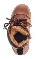 Kinder Winter Knöchel Schuhe Jungen Mädchen Kunst Leder Schuhe warm gefüttert Outdoor Boots 30 - 36 – Bild 7