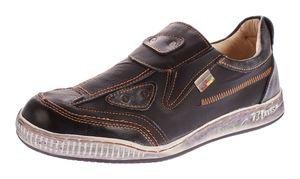 Herren echt Leder Schuhe Slipper TMA 4191 Halb Schuhe Sneaker Comfort Sportschuhe Gr. 41-46 – Bild 1