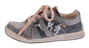 Herren echt Leder Schuhe TMA 4119 Schnür Halb Schuhe Sneaker Comfort Sportschuhe Gr. 41-46 – Bild 3