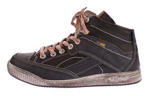 Herren echt Leder Winter Schuhe TMA 4141 Schnür Knöchel Schuhe Comfort Boots warm gefüttert Gr. 41-46 – Bild 3