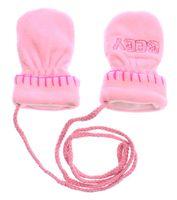 Kinder Handschuhe Jungen Mädchen Herbst Winter Fleece Fäustlinge Gr. 5,5 - 6,5 (M-XL) – Bild 3