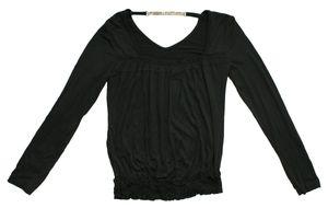 Damen Langarm Shirt Longsleeve Pullover Strass Kette Made in Italy Gr. S - M – Bild 4