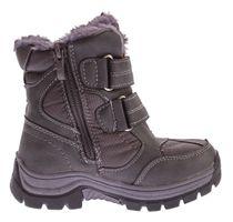 Kinder Winter Stiefel warm gefüttert Jungen Outdoor Boots Schuhe Reißverschluss Klett Gr. 25 - 30 – Bild 10