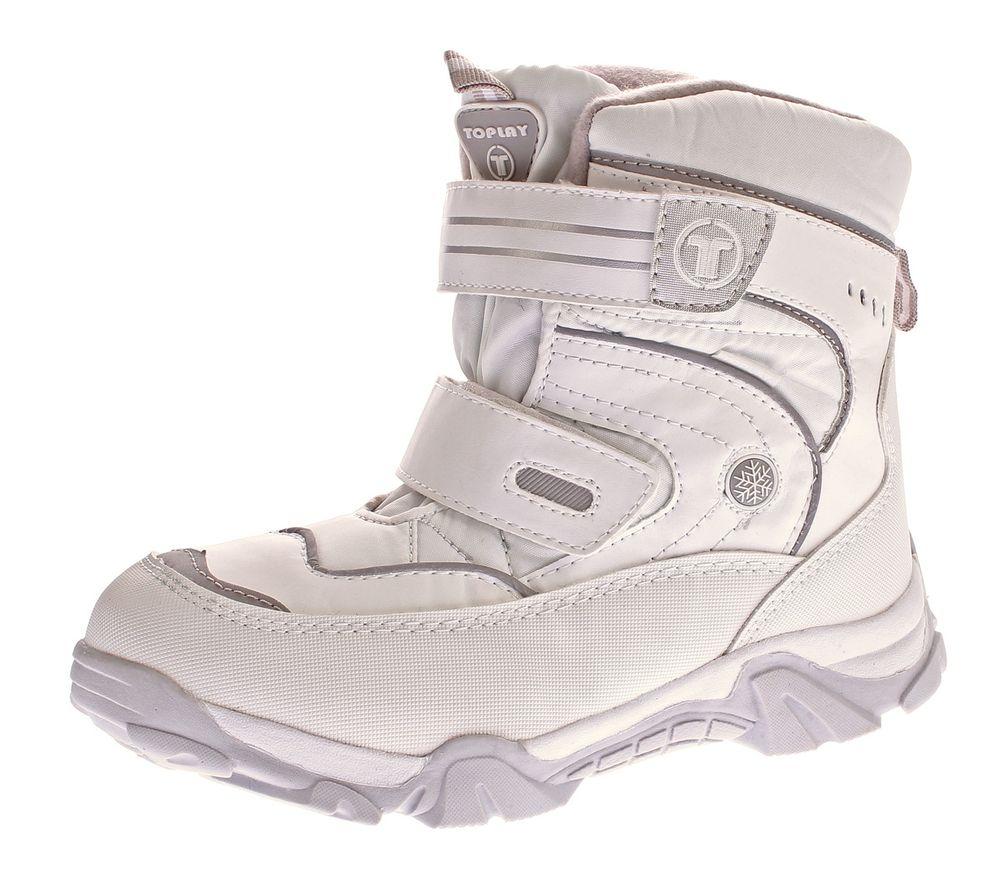 Damen Schnee Stiefel Winter Schuhe warm gef ttert Outdoor Boots Klettverschluss