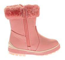 Kinder Winter Stiefel Mädchen warm gefüttert Strass Bommeln Outdoor Boots Reißverschluss Gr. 21 - 25 – Bild 6