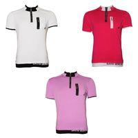Herren Poloshirt David & Gerenzo T-Shirt Slim Fit Stretch Oberteil Figurbetont Aufdruck Kurzarm Gr. M-XL – Bild 1
