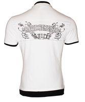 Herren Poloshirt David & Gerenzo T-Shirt Slim Fit Stretch Oberteil Figurbetont Aufdruck Kurzarm Gr. M-XL – Bild 5