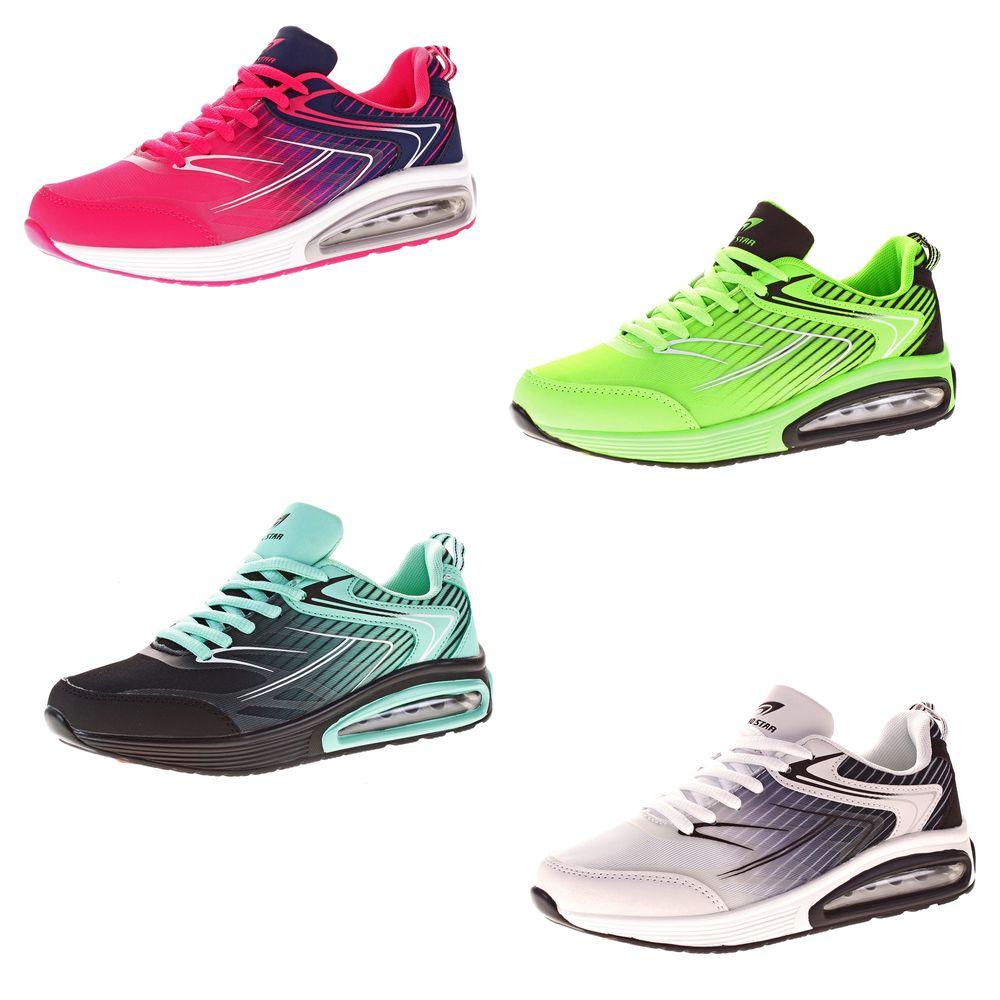 Damen Sneakers Farbverlauf Sport Schuh bunt Halbschuhe Schnürer Turnschuhe  Freizeit Gr. 36 - 41 4d8d3b0c72