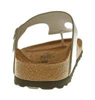 Damen Zehentrenner Natural Power Bio Pantoletten Leder-Tieffußbett Sandalen Schuhe Latschen 36 - 42 – Bild 17