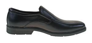 Herren Schuhe Slipper Halbschuhe Anzugschuhe Business Gummizug Gr. 40-46 – Bild 4