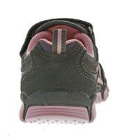 Kinder Halb Schuhe Mädchen Jungen Wild Leder bunt Sneaker Klettverschluss Turnschuhe Gr. 25 - 30 – Bild 13