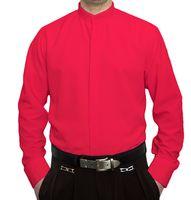 Designer Herren Stehkragen Hemd Hochzeit Business verdeckte Knopfleiste S9 Langarm Gr. M - XXXL – Bild 9