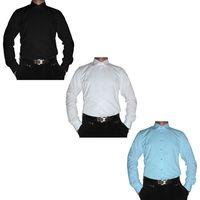 Herren Designer Hemd Bügelfrei New Kent Kragen Herrenhemd K12 Slim Fit tailiert S-XXL 37-46