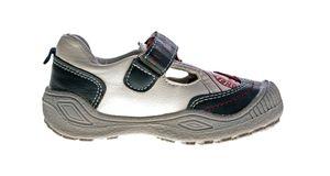 Kinder Sneaker Jungen Mädchen Kita Schuhe Klettverschluss Halb Schuhe Aufdruck Gr. 26 - 27 – Bild 10
