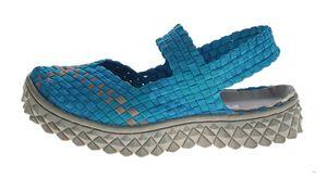 TMA Damen Ballerinas geflochten Sandalen elastisch Halb Schuhe Sandaletten TMA 140302 Gr. 36 - 42 – Bild 6