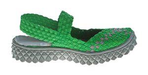 TMA Damen Ballerinas geflochten Sandalen elastisch Halb Schuhe Sandaletten TMA 140302 Gr. 36 - 42 – Bild 17