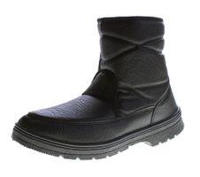 Herren Knöchel Winter Boots Schuhe gefüttert Kunst Leder Stiefeletten Reißverschluss Gr. 41-43 – Bild 1