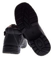 Herren Winter Schuhe warm gefüttert Stiefeletten Klettverschluss Knöchel Schuhe Boots Gr. 40 - 46 – Bild 5