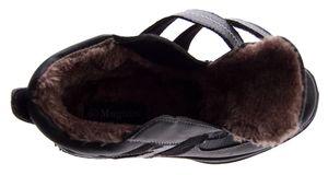 Herren Winter Schuhe warm gefüttert Stiefeletten Klettverschluss Knöchel Schuhe Boots Gr. 40 - 46 – Bild 7