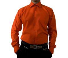 Herren Designer Hemden B-Ware Freizeit Hemd TOK11TO klassischer Kent Kragen Lang Arm 2. Wahl – Bild 8