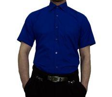 Herren Designer Hemden B-Ware Freizeit Hemd TK11KAT Kurz Arm klassischer Kent Kragen 2. Wahl – Bild 4