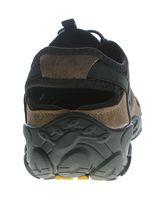 Herren Outdoor Sandaletten echt Leder Gummizug Halb Schuhe Sandalen Größe 40 - 46 – Bild 11