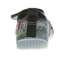 Kinder Leinen Schuhe Klettverschluss Kita Halbschuhe Jungen Mädchen Stoff Hausschuhe Größe 25 - 30 – Bild 7
