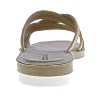 Damen Pantoletten Sandaletten gekreuzte Riemchen Glitzer Latschen Glanzeffekt Soft-Fußbett 36-42 – Bild 16